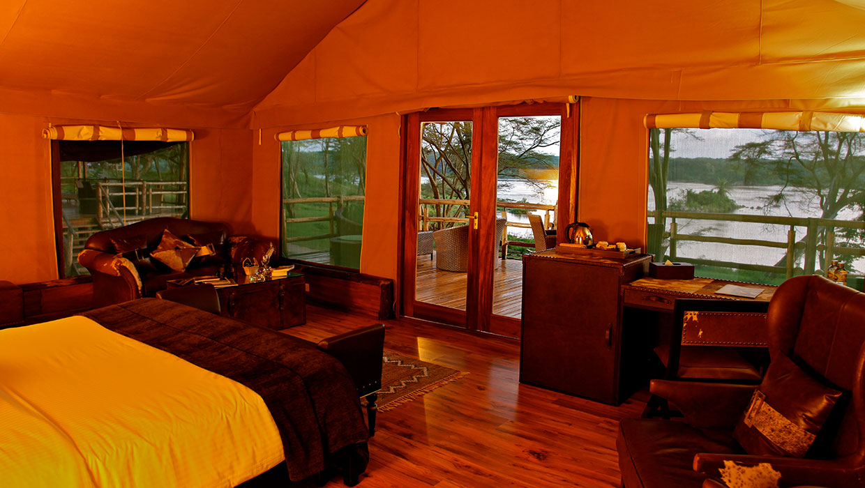LUXURY CAMPING IN UGANDA'S MURCHISON FALLS NATIONAL PARK