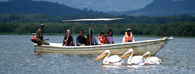 transfer to Lake Mburo National Park & an afternoon boat ride